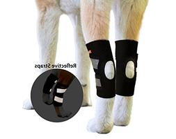 NeoAlly Dog Back Leg Braces Ankle Support  Canine Hind Hock