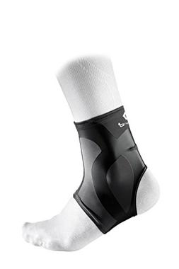 McDavid Dual Compression Ankle Sleeve, Charcoal/Black, Mediu