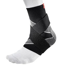 McDavid 4 Way Elastic Ankle Sleeve with Figure 8 Straps, Lar