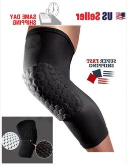 Elastic Compression Sleeve Knee Support Brace Knee Pads Spor