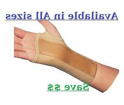 PROCARE ELASTIC WRIST BRACE W/ METAL STAY CARPAL TUNNEL SUPP