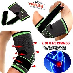 Elbow Brace Compression Support Sleeve Arthritis Tendonitis