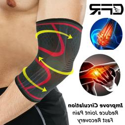 Elbow Brace Support Arm Sleeves Tennis Golfers Joint Pain Ar