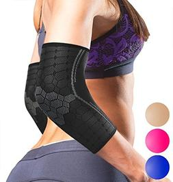 Sparthos Elbow Compression Sleeves  – Tendonitis Golfer's