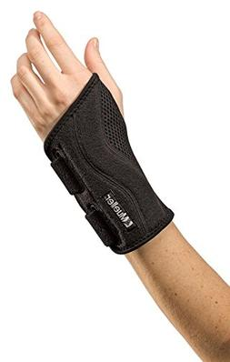 Mueller Sports Fitted Wrist Brace OSFM - Black, Left - Each