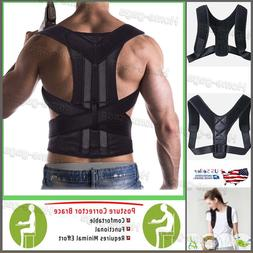 Fully Back Support Brace Scoliosis Posture Corrector Waist/S