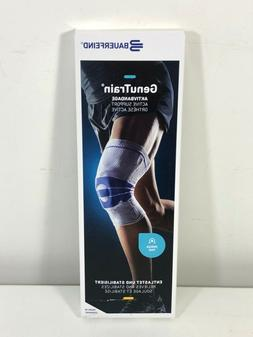 genutrain active knee support brace size 4