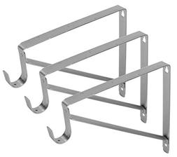 Harrier Premium Heavy Duty Closet Shelf and Rod Bracket - 3