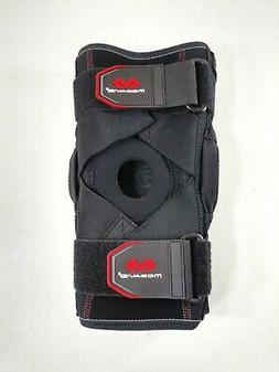 McDavid Hinged Knee Brace w/ Cross Straps Lv3 Protection XL