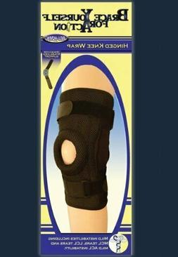 Hinged Knee Brace Support DJO Bell Horn Orthopedic Wrap NEW