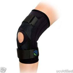 Advanced Orthopaedics Hinged Wrap Around Knee Brace New Supp