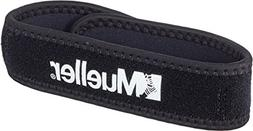 Mueller Jumper's Knee Strap, Black, One Size Fits Most, 1-Co