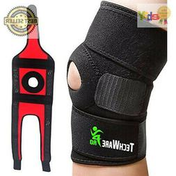 Tech Ware Pro Knee Brace Support | Relieves ACL, LCL, MCL, M