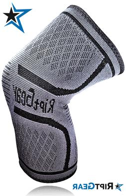 Knee Compression Sleeve for Men and Women by RiptGear® - Kn