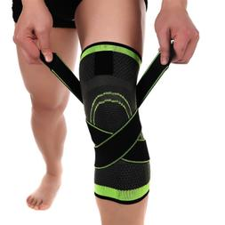 knee sleeve compression brace patella support stabilizer