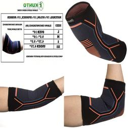 Kunto Fitness Elbow Brace Compression Support Sleeve For Ten
