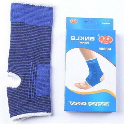 2 ANKLE Support Elastic Brace Arthritis Pain Relief NEW