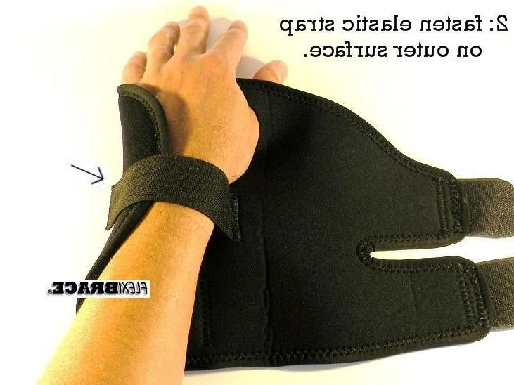 2 FDA Hand Brace Carpal Support Flexibrace