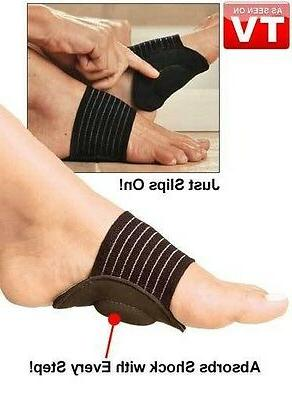 ** 2 PAIRS!! STRUTZ ARCH SUPPORT~Eases Plantar Fasciitis Pain