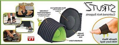 ** 2 ** STRUTZ CUSHIONED FOOT SUPPORT~Eases