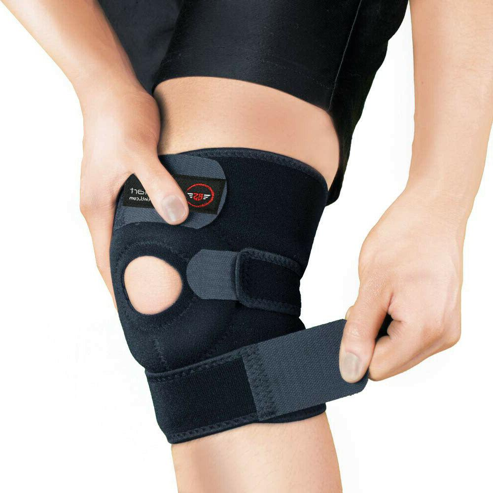 3 strap knee brace stabilizer wrap support