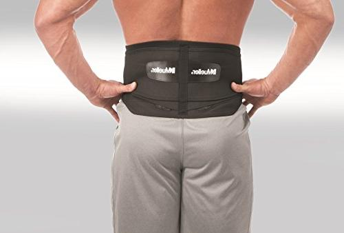 Mueller Brace with Pad, Black, Regular