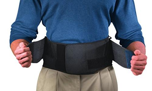 Mueller Lumbar Brace with Black,