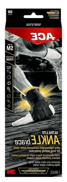 3M ACE Ultra-Lite Ankle Brace - XL / Firm Support - Minor Bo