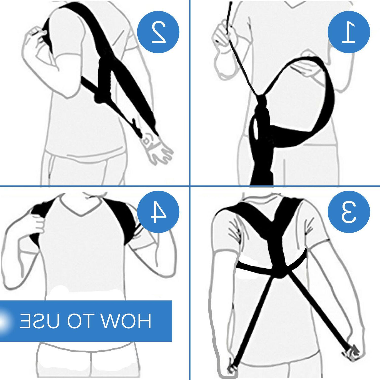 Adjustable Corrector Shoulder Correct Brace Belt Women