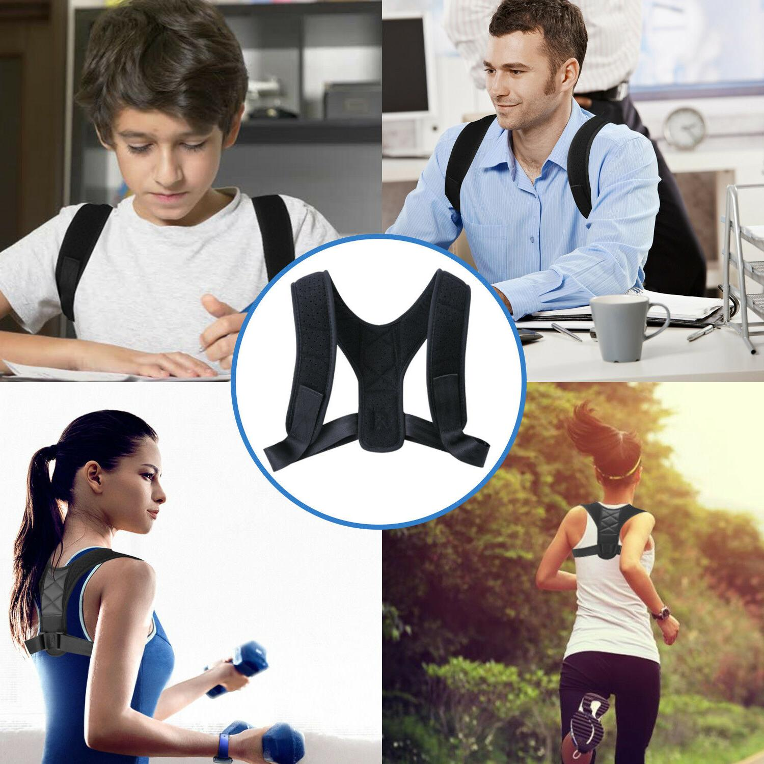 Adjustable Posture Corrector Shoulder Belt Women