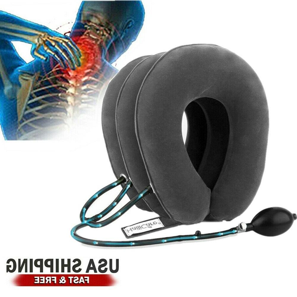 Air Pillow Cervical Head Traction Brace Protector Relax