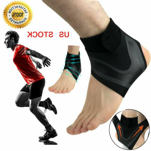 ankle brace support compression sleeve plantar fasciitis