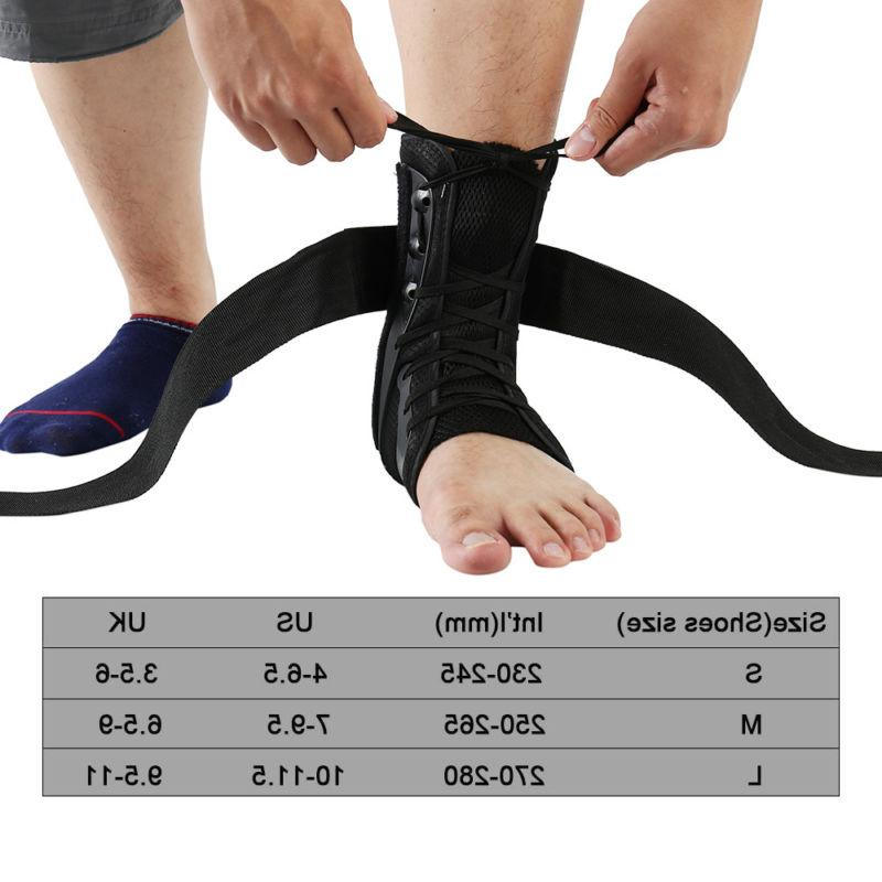 Ankle Brace Hinged Guard Stabilizer
