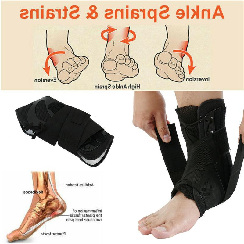 Ankle Brace Hinged Guard Sports Stabilizer Tendon