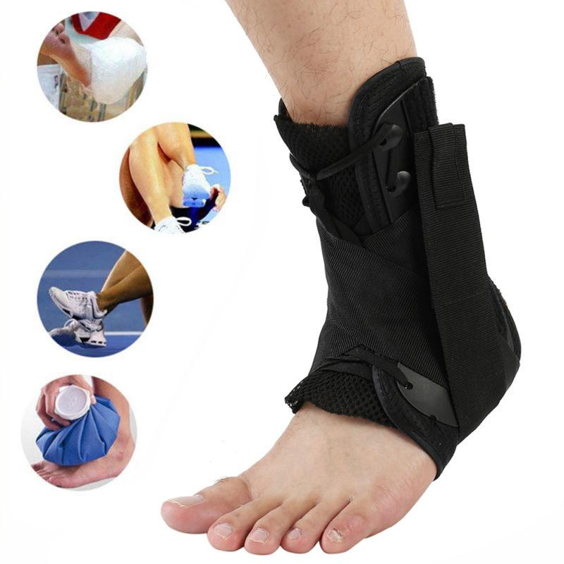 Ankle Brace Hinged Guard Basketball Stabilizer Tendon Pad