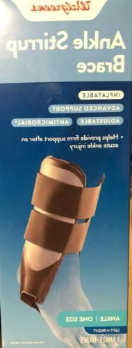 Ankle inflatable, left or right, Adjustable.