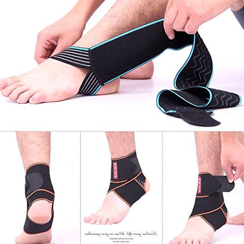 Ankle Breathable Super Elastic Size Fits for Protects Against Chronic Strain, Fatigue