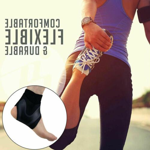 Ankle Brace Support Sleeve Relief Foot Wrap