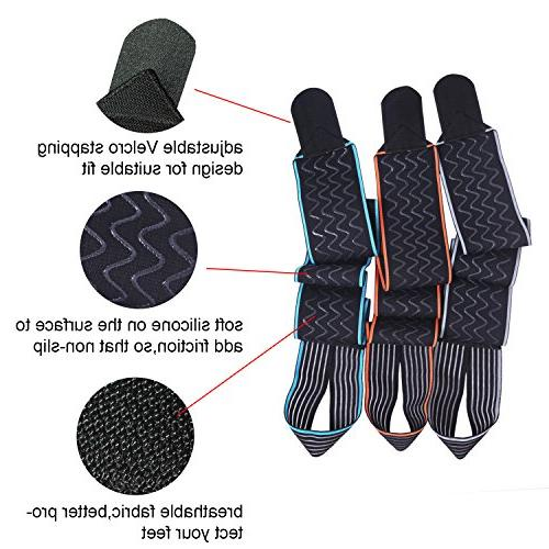 Ankle Support,Adjustable Ankle Breathable Material Elastic and Comfortable Size Fits all, Perfect for Sports, Protects Chronic Fatigue