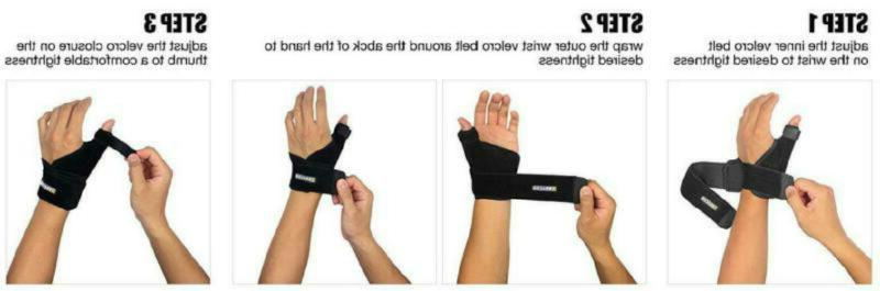 Arm Finger Supports Bracoo Reversible Neoprene