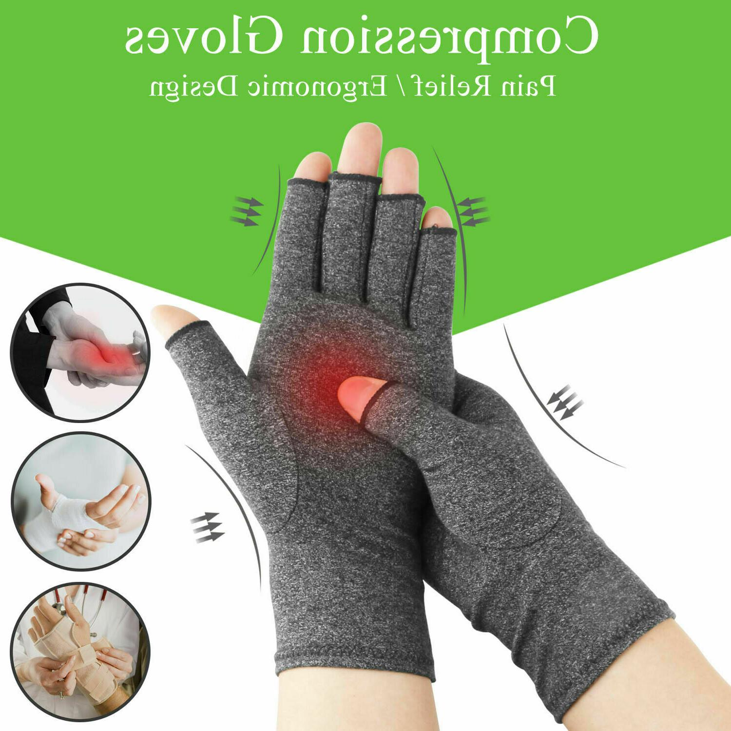 arthritis compression gloves joint carpal tunnel hand