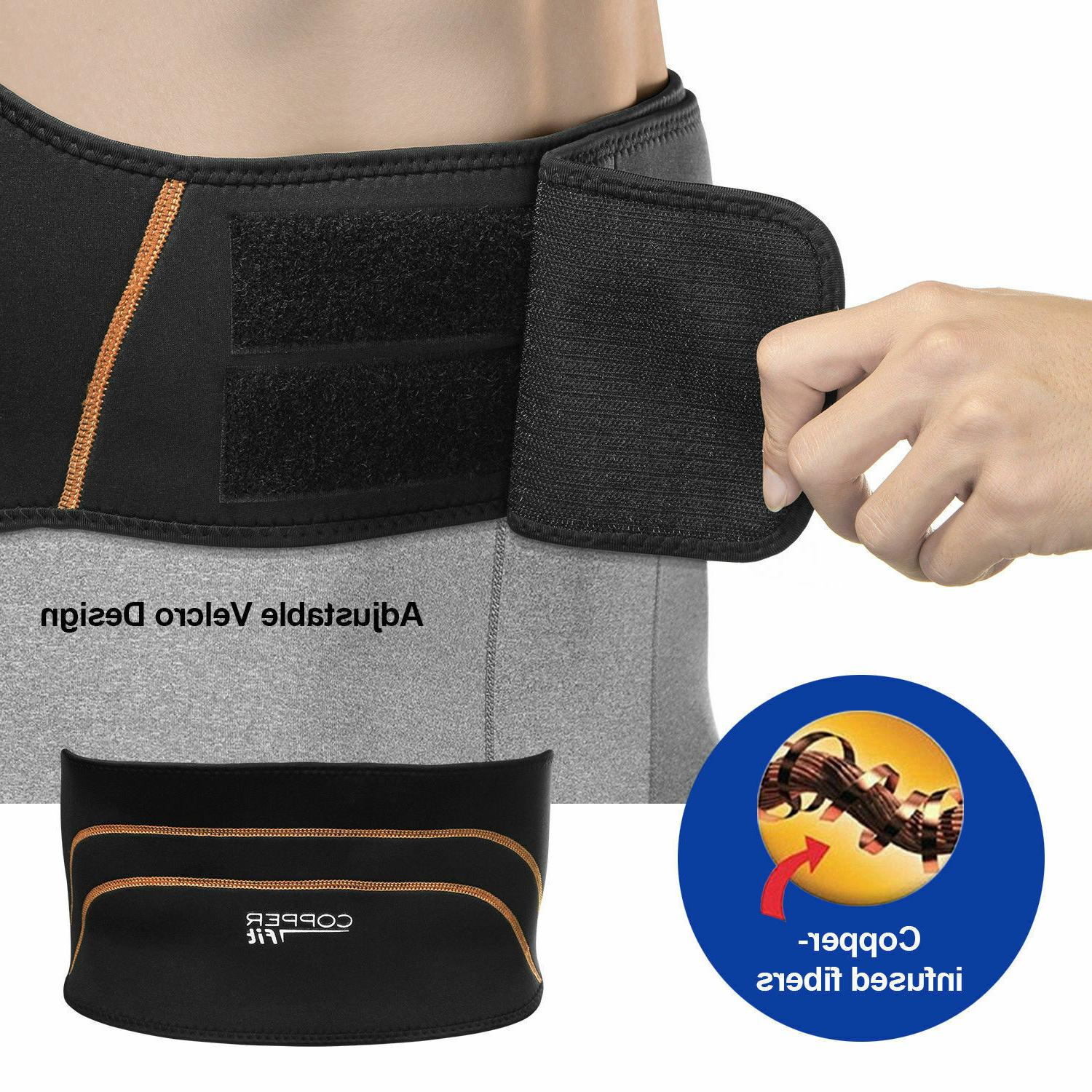 Copper Fit Back Compression Support S/M L/XL