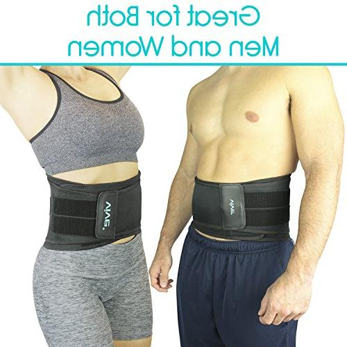 Vive Back Pain, Sciatica, Spasms, and Disc - Adjustable Lumbar Wrap and Relief