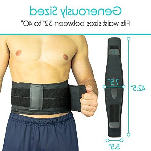 Vive Lower Back - and Disc Adjustable Wrap Pain and Relief