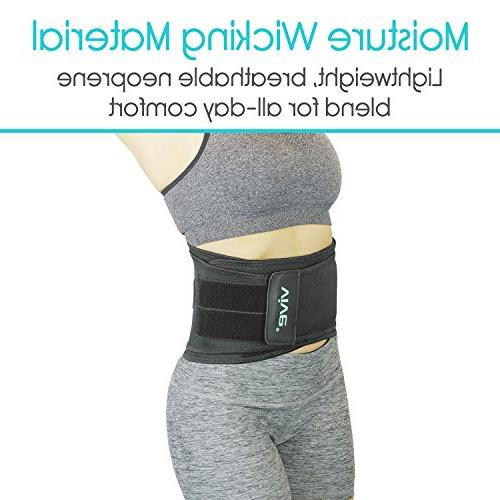 Vive Brace - Support Chronic Pain, Sciatica, and Herniated Slipped Disc Wrap for Pain Management and Relief