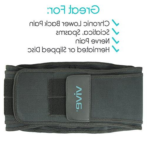 Vive - Support for and Herniated or Slipped Disc Wrap for Pain Management and