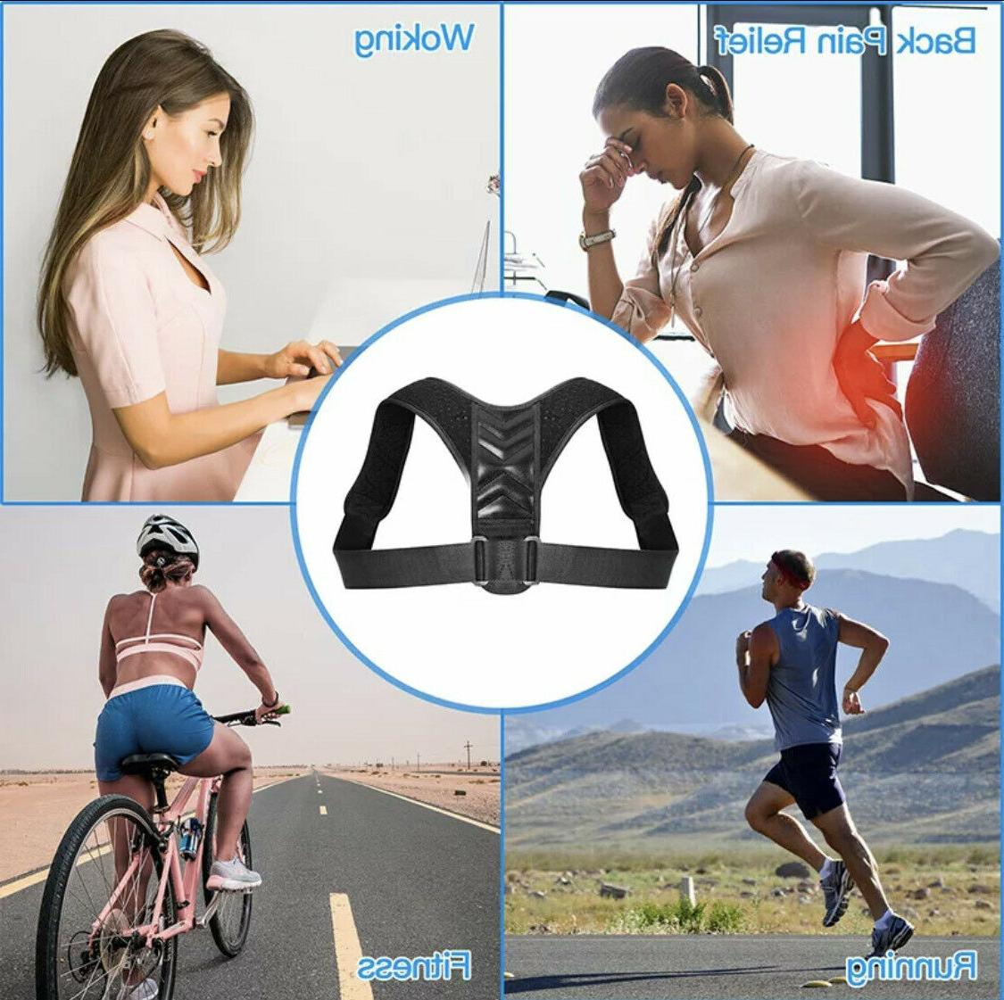 Back Posture Straight Support Brace Therapy Women