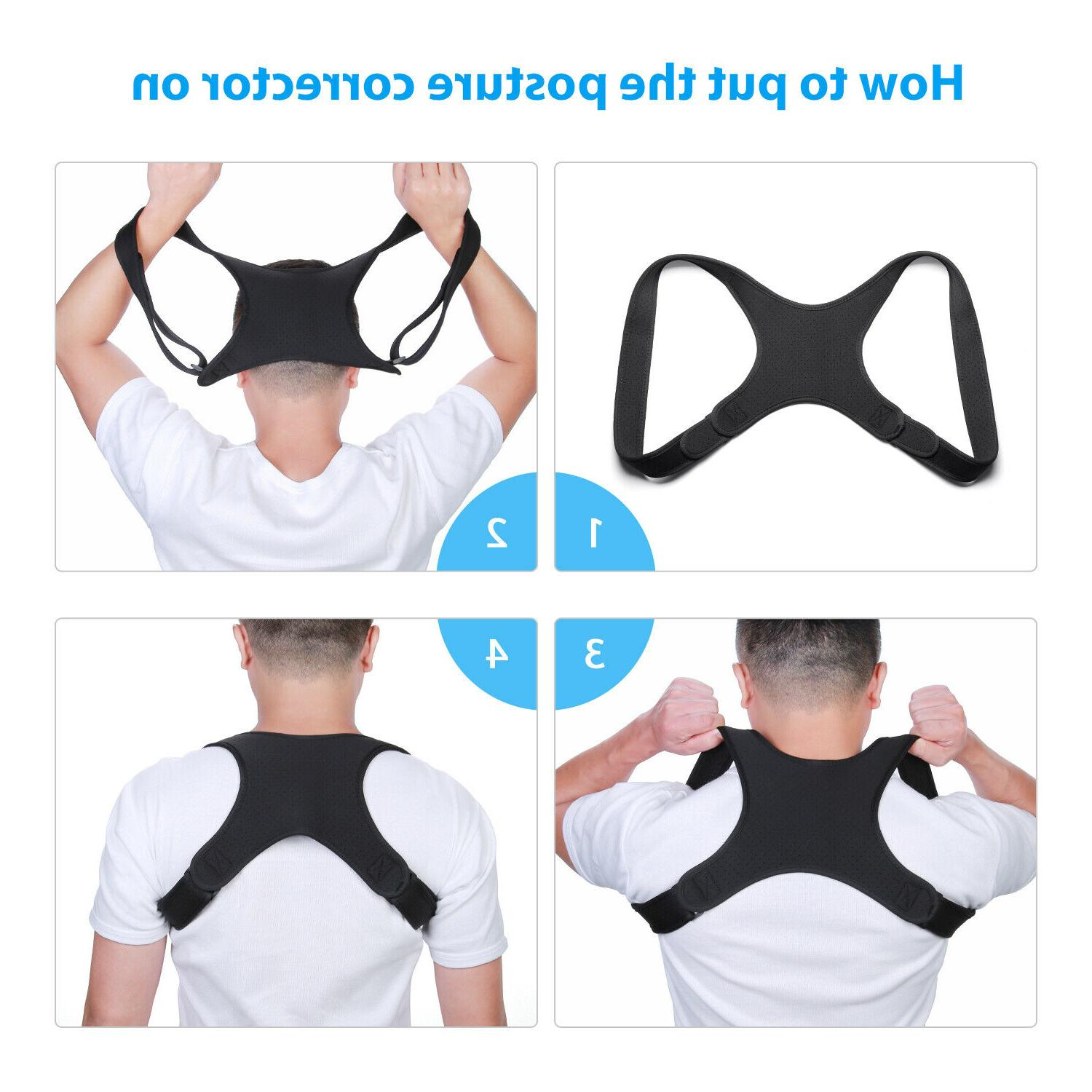 Back Posture Straight Brace Therapy US