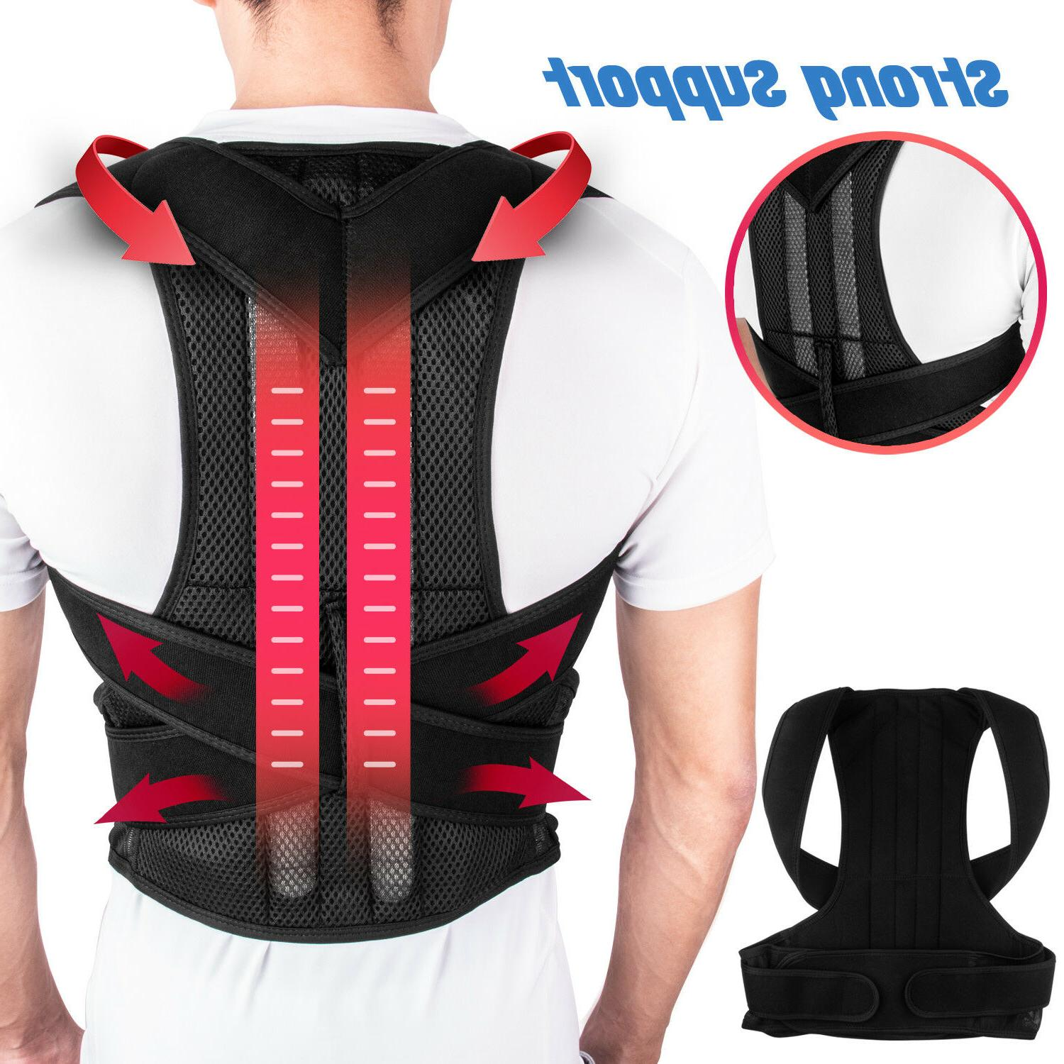 Men Women Back Posture Corrector Shoulder Correction Support