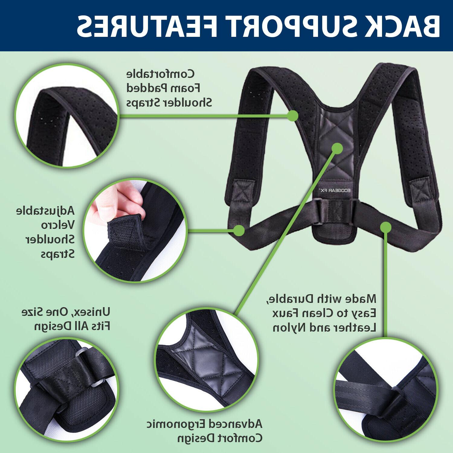 Back Adjustable Therapy Men
